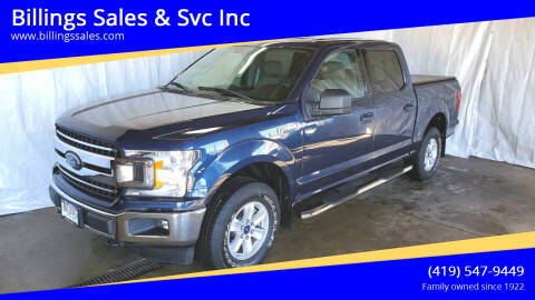 2018 Ford F-150 for sale at Billings Sales & Svc Inc in Clyde OH
