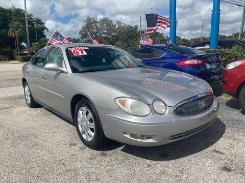 2007 Buick LaCrosse for sale at AUTO PROVIDER in Fort Lauderdale FL
