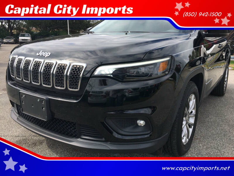 2019 Jeep Cherokee for sale at Capital City Imports in Tallahassee FL
