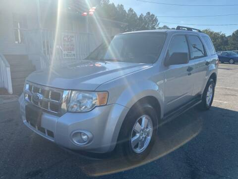 2009 Ford Escape for sale at CVC AUTO SALES in Durham NC