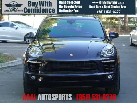 2018 Porsche Macan for sale at ASAL AUTOSPORTS in Corona CA