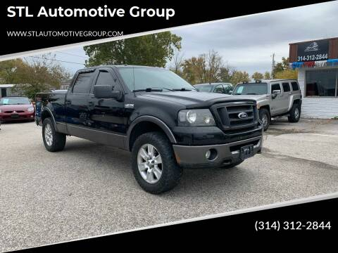 2008 Ford F-150 for sale at STL Automotive Group in O'Fallon MO