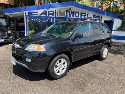 2004 Acura MDX for sale at Car World Inc in Arlington VA