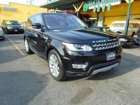 2017 Land Rover Range Rover Sport for sale at Santa Monica Suvs in Santa Monica CA