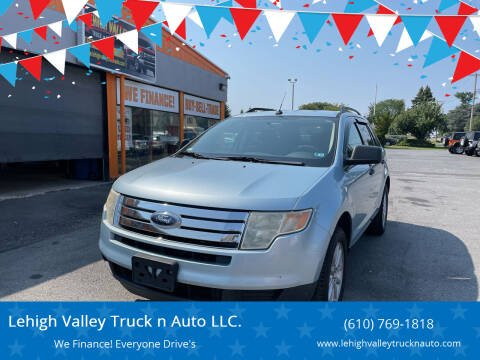 2008 Ford Edge for sale at Lehigh Valley Truck n Auto LLC. in Schnecksville PA