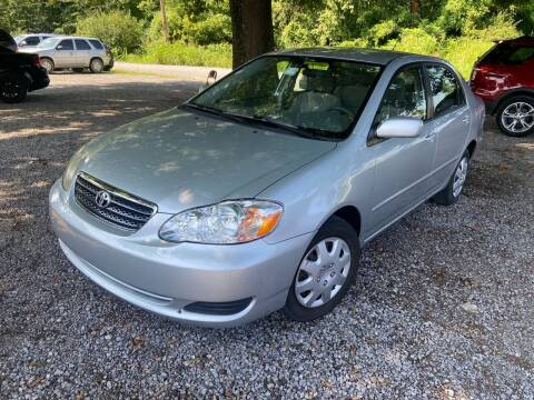 2005 Toyota Corolla for sale at Sartins Auto Sales in Dyersburg TN