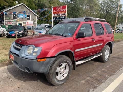 2002 Nissan Xterra for sale at Korz Auto Farm in Kansas City KS