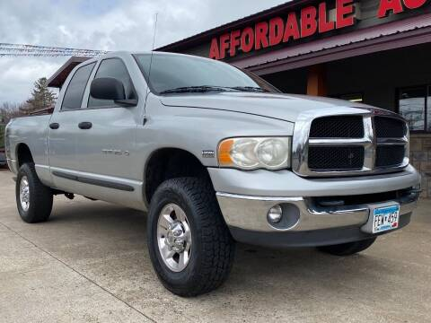 2005 Dodge Ram Pickup 2500 for sale at Affordable Auto Sales in Cambridge MN
