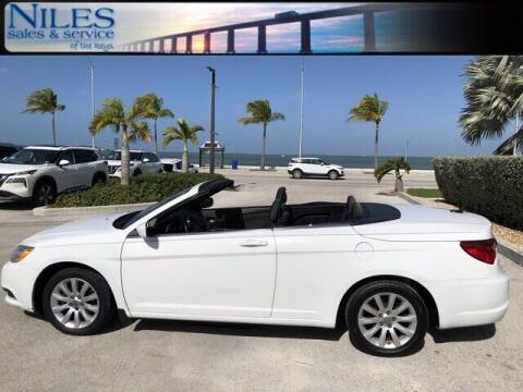 2011 Chrysler 200 Convertible for sale at Niles Sales and Service in Key West FL