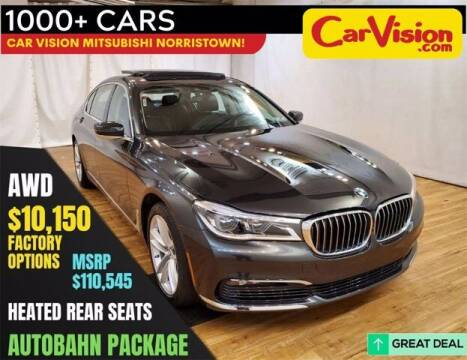 2018 BMW 7 Series for sale at Car Vision Buying Center in Norristown PA
