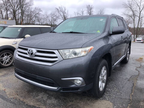2012 Toyota Highlander for sale at Top Line Import in Haverhill MA
