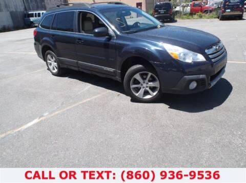 2013 Subaru Outback for sale at Lee Motor Sales Inc. in Hartford CT
