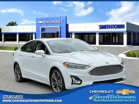 2019 Ford Fusion for sale at CHEVROLET OF SMITHTOWN in Saint James NY