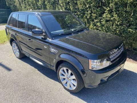 2013 Land Rover Range Rover Sport for sale at Limitless Garage Inc. in Rockville MD