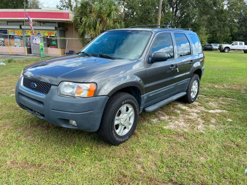 2004 Ford Escape for sale at Massey Auto Sales in Mulberry FL