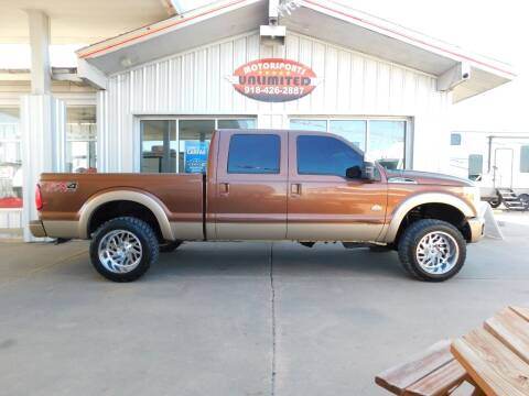 2012 Ford F-250 Super Duty for sale at Motorsports Unlimited in McAlester OK