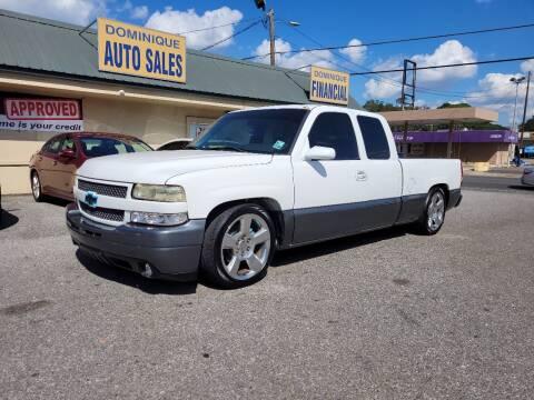 2001 Chevrolet Silverado 1500 for sale at Dominique Auto Sales in Opelousas LA
