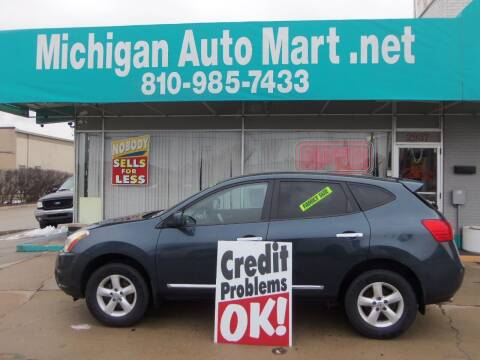 2013 Nissan Rogue for sale at Michigan Auto Mart in Port Huron MI