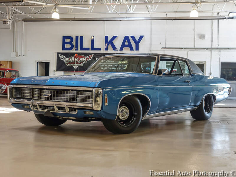 1969 Chevrolet Caprice for sale at Bill Kay Corvette's and Classic's in Downers Grove IL