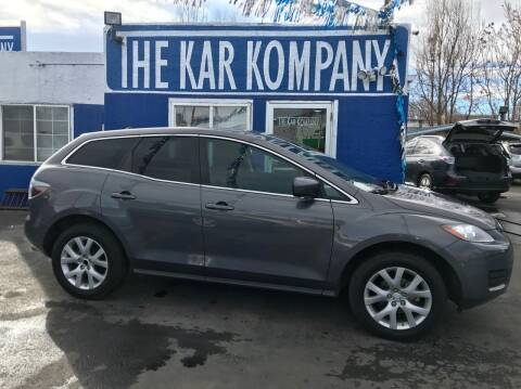 2008 Mazda CX-7 for sale at The Kar Kompany Inc. in Denver CO