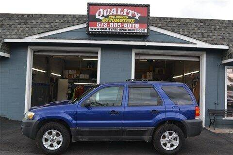 2006 Ford Escape for sale at Quality Pre-Owned Automotive in Cuba MO