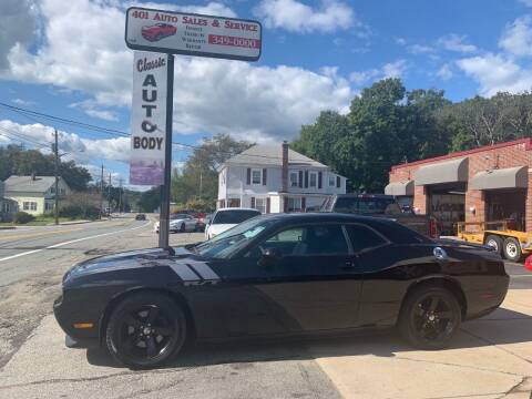 2012 Dodge Challenger for sale at 401 Auto Sales & Service in Smithfield RI