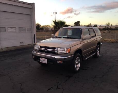 2001 Toyota 4Runner for sale at My Three Sons Auto Sales in Sacramento CA