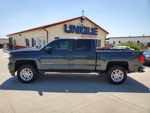 "2017 Chevrolet Silverado 1500 for sale at UNIQUE AUTOMOTIVE ""BE UNIQUE"" in Garden City KS"