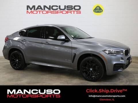 2017 BMW X6 for sale at Mancuso Motorsports in Glenview IL