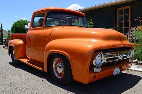 1956 Ford F-100 for sale at Collector Car Channel - Desert Gardens Mobile Homes in Quartzsite AZ