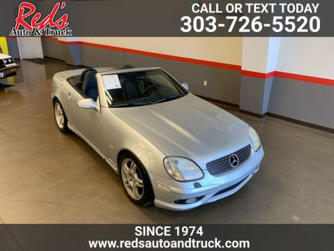 2002 Mercedes-Benz SLK for sale at Red's Auto and Truck in Longmont CO