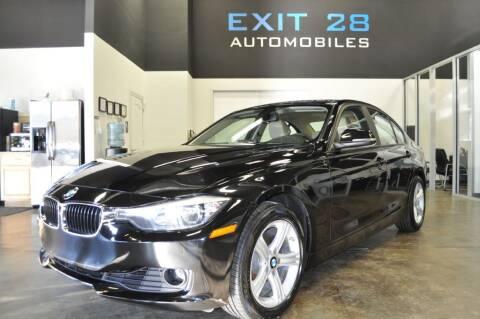 2015 BMW 3 Series for sale at Exit 28 Auto Center LLC in Cornelius NC