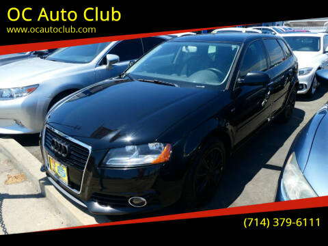 2012 Audi A3 for sale at OC Auto Club in Midway City CA
