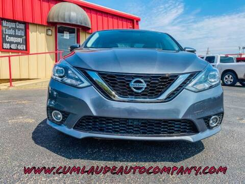 2016 Nissan Sentra for sale at MAGNA CUM LAUDE AUTO COMPANY in Lubbock TX