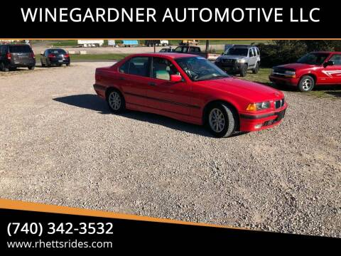 1998 BMW 3 Series for sale at WINEGARDNER AUTOMOTIVE LLC in New Lexington OH
