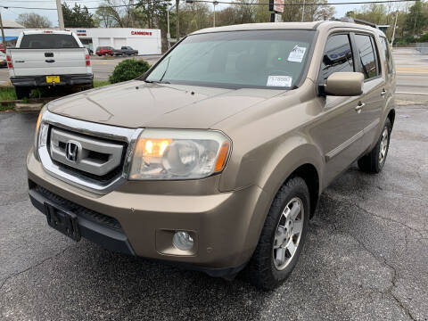 2011 Honda Pilot for sale at Diana Rico LLC in Dalton GA