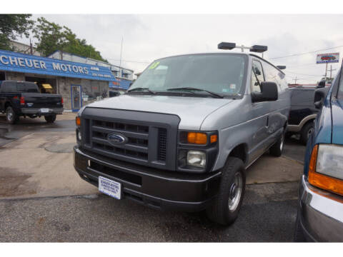2013 Ford E-Series Cargo for sale at Scheuer Motor Sales INC in Elmwood Park NJ