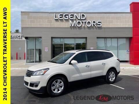 2014 Chevrolet Traverse for sale at Legend Motors of Detroit - Legend Motors of Waterford in Waterford MI