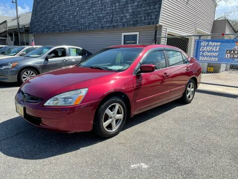 2005 Honda Accord for sale at JK & Sons Auto Sales in Westport MA