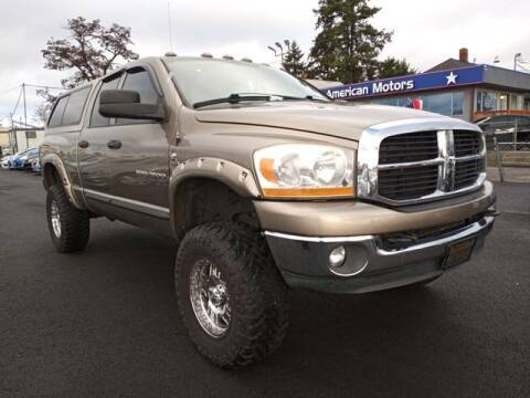 2006 Dodge Ram Pickup 2500 for sale at All American Motors in Tacoma WA