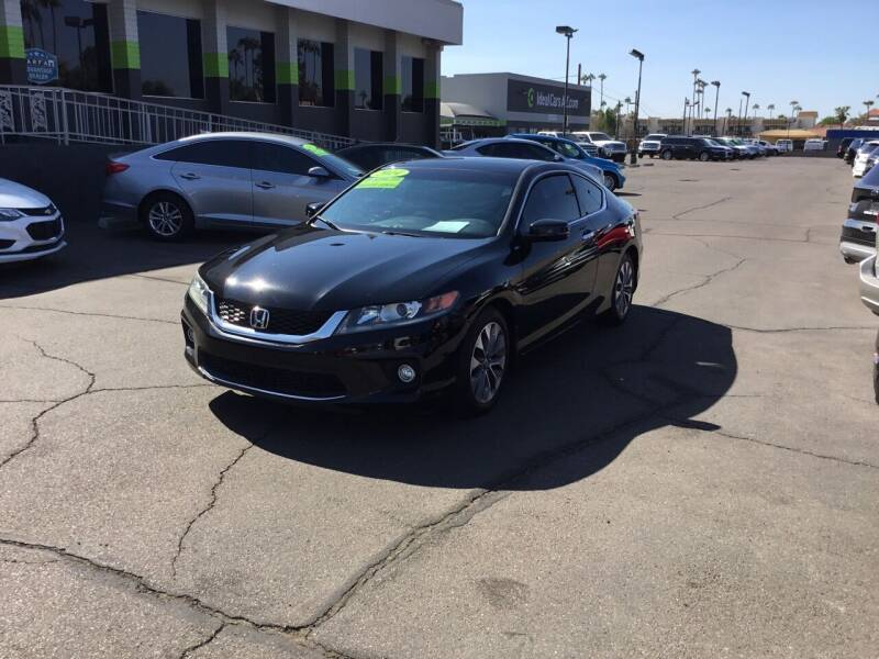 2014 Honda Accord for sale at Ideal Cars Broadway in Mesa AZ