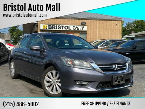 2013 Honda Accord for sale at Bristol Auto Mall in Levittown PA