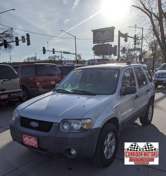 2007 Ford Escape for sale at Corridor Motors in Cedar Rapids IA