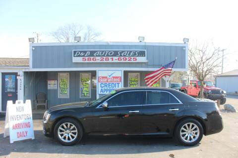 2012 Chrysler 300 for sale at D & B Auto Sales LLC in Washington Township MI
