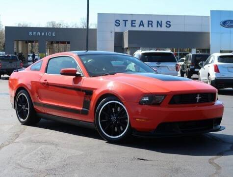 2012 Ford Mustang for sale at Stearns Ford in Burlington NC