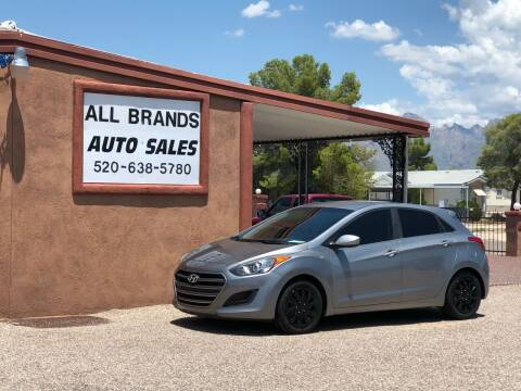 2016 Hyundai Elantra GT for sale at All Brands Auto Sales in Tucson AZ