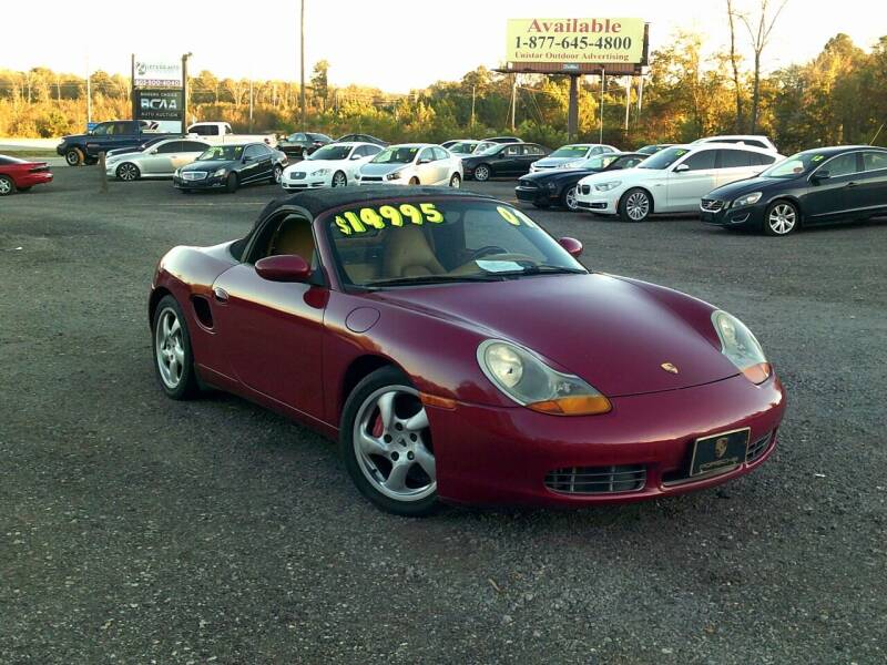 2001 Porsche Boxster for sale at Let's Go Auto Of Columbia in West Columbia SC