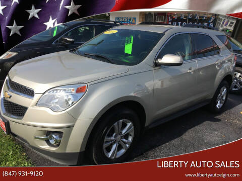2014 Chevrolet Equinox for sale at Liberty Auto Sales in Elgin IL
