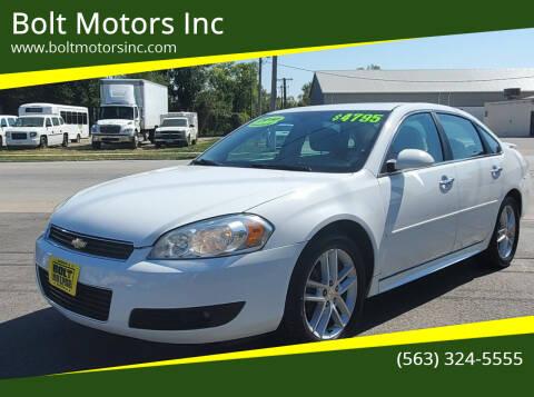 2010 Chevrolet Impala for sale at Bolt Motors Inc in Davenport IA