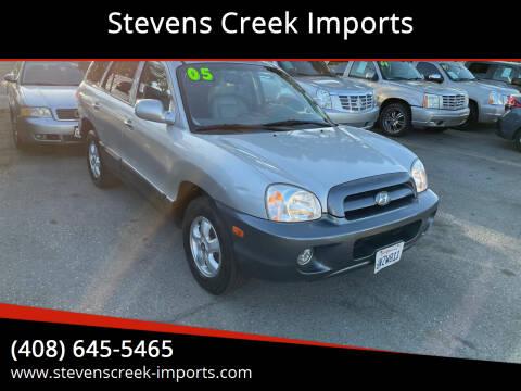 2005 Hyundai Santa Fe for sale at Stevens Creek Imports in San Jose CA